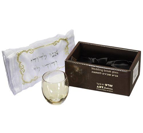 כוס לחתן זהב