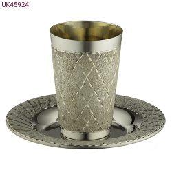 גביע קידוש מהודר כסף 8.5 סמ_UK45924